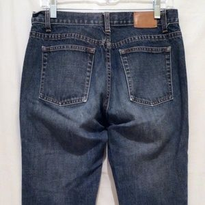 J. Crew Mid-Rise Boot Cut Jeans - size 6